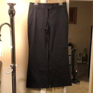 Express correspondent dress pants in dark gray